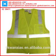 safety chiffon long vest dress meeting EN471 CE