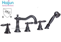 cupc bathroom bath shower faucets set