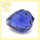 water drop shape cz gems faceted cubic zirconia beads fashion costume jewelry china