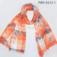 2015 La Beau New Product 100% Polyester Chevron Pattern Unisex Fashion Scarves