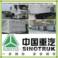 Euro 2 /Euro 3 20-40 ton CNHTC Dump Truck