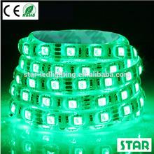 LED waterproof shower light 5050 Green waterproof rgb led strip ip65