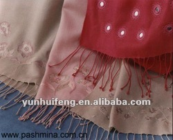cashmere embroidery scarf and shawl
