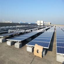 solar home use system cheap pv solar panel solar back sheet flat roof solar bracket