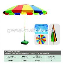 High Quality Customized Beach Promotion Umbrella