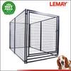 1.5x3xh1.8m heavy-duty black dog park luxury dog kennel