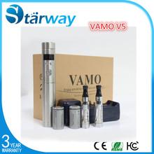 China Alibaba Electronic Cigarette Variable Voltage Huge Vapor Vamo V5 Full Kit