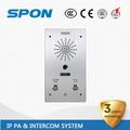 sip ip de la puerta de vídeo ethernet con liberación de la puerta del sistema de intercomunicación