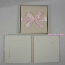CD case DVD holder Fabric cover with ribbon bow
