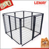 Welded wire large cage folding metal dog fence in china
