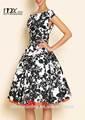 vestido floral mulheres vestido últimas mulheres de vestido