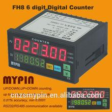 8 led dígitos contador de impulsos, digital contador del metro( mypin)