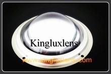 solar panel 51mm 70*90degree Glass LED lens for 10W -130W plano convex glass lens plano-convex glass lens