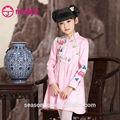 estilo chino midi vestido de fiesta para las minorías étnicas en todo el mundo de niñas chinas