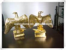 High grade lifelike eagle decorative bronze sculpture