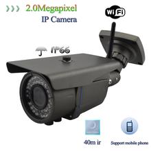 NEW!!! 1/3 sony sensor HD CMOS 40M IR Waterproof 5 Megapixel 1080P IP Camera with P2P, ONVIF, Low Lux, 4-9mm Varifocal Lens