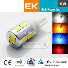 Waterproof high power car led lights wholesale,T10 car led light,led car lights/t10 led bulbs
