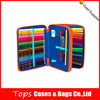 High end custom double layer large pencil cases for school