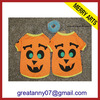 2015 new product wholesale Cheap Yellow christmas Dog pet Clothing products With Pumpkin logo