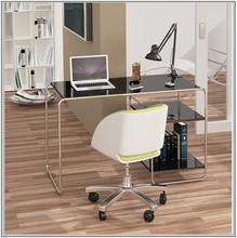Scandinavian furniture modern pu high gloss office desk