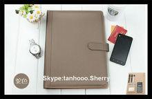 artificial leather rings binder, pp file folder,folder papers