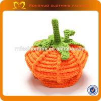 Halloween pumpkin Custom leather patch logo snapback hats wholesale make paper birthday hats