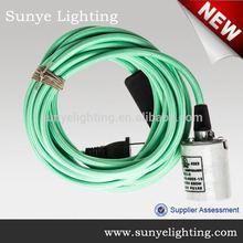 High quality electrical wire with switch and plug eu to uk plug adaptor/