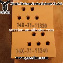 14X-71-11330 14X-71-11340 construction machinery parts level cut bulldozer end bit