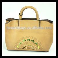High quality designer classic female pu leather vintage handbags