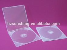 wholesale cd dvd case cheap 5mm plastic single/double cd case