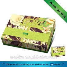 Beautiful eco frienfly handmade paper snack box/hot sale food packaging in 2014