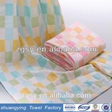 zero-twist yarn customize logo dobby all color 100 cotton baby towel