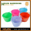 High Quality Plastic Mop Cleaning Bucket New Style Colorful barrels pails Bucket manufacturer