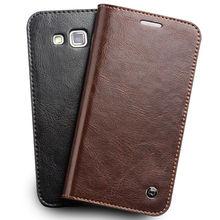 QIALINO WALLET Leather Flip Case for Samsung Galaxy Grand 2 II G7106 G7108