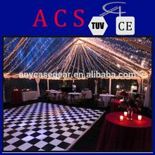 Enjoy the beauty of white laminate floor/wood outside decks/teak dance floor