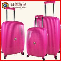 Spinner Wheels PP Luggage Trolley Case