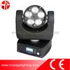 night club lights 5*4in1 12w rotating beam lighting or mini beam lighting