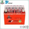 12v 4ah ytx4l-bs bateria da motocicleta, recarregável 12v gel bateria com msds