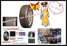 passenger car tyre 195/55R15 triangle