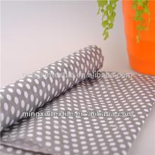 discount monkey dot prints pu coated waterproof fabric bag lining