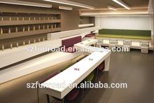 Nail retail shop equipment nail salon furniture, nail bar interior design
