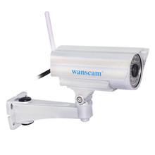 Wireless IP Camera Outdoor Mini P2P 1.0MP 720P WiFi Waterproof IP66 CCTV Security IR-Cut Plug and Play Webcam Dummy Camera
