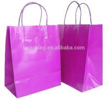 pink paper bag SC146