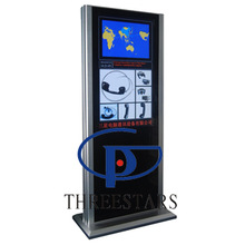 32~55 Inch WIFI 3G information Touch Screen advertising display