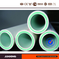 composite hot water ppr pipe with glass fiber