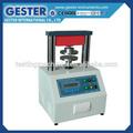 China proveedor de papel junta prueba de aplastamiento/probador de aplastar/aplastamiento de la máquina de prueba