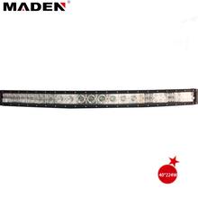 40inch 224W aluminum housing led light bar curved 4x4 led light system MD-07C-224