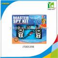 mestre de espionagem kit para crianças walkie talkie de brinquedo elétrico detetive kit brinquedo