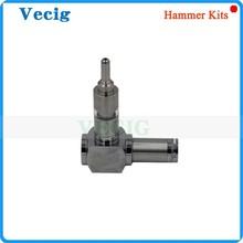 Special design hot sell electronic cigarette hammer e pipe mod huge vapor 18350 18650 battery hammer mod in gift box