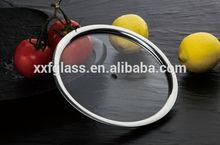 T type flat glass lid